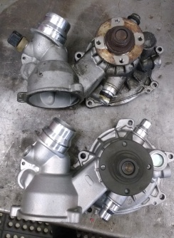 BMW N62 water pump replacement.