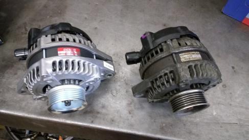 Honda alternator replacement.